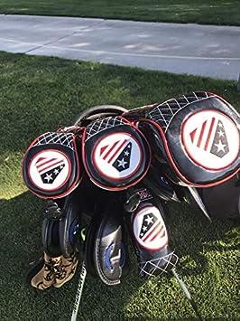 Artesano Golf Universal bandera de EE. UU. Negro Madera de ...