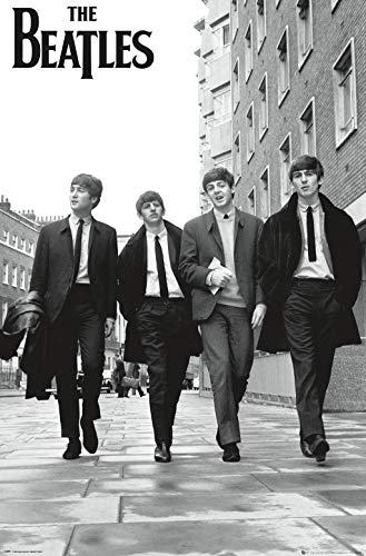 "Trends International Official The The Beatles in London, 22.375"" x 34"""