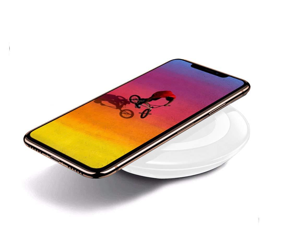 Kadeva Cargador inalambrico Compatible con Samsung Galaxy S9 ...