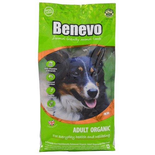 Benevo Dog Organic Veganes Bio Hundefutter, 1er Pack (1 x 2 kg)