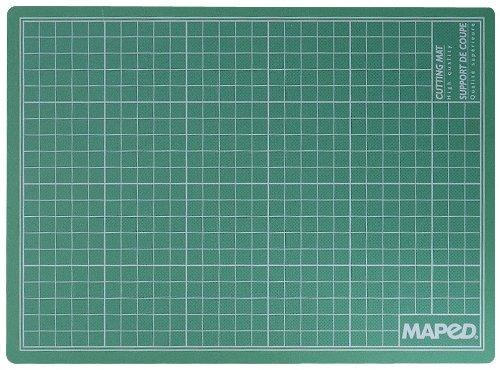(Maped Self Healing Cutting Mat, 18 x 24 Inches, PVC, Green (174220))