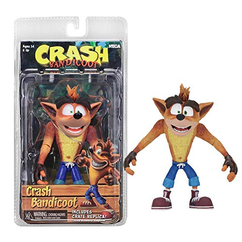 PLAYER-C 6Inch Original Game Crash Bandicoot Sane Trilogy Action Figure Toy Doll