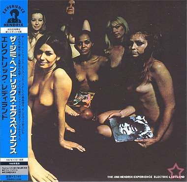 Electric Ladyland Mini Lp Cd Japan OBI Nude Cover (Electric Ladyland)