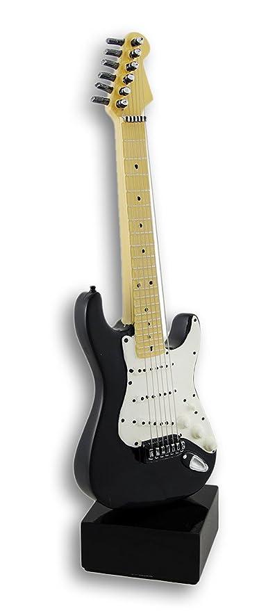 Things2Die4 Blanco y Negro Guitarra eléctrica Estatua: Amazon.es: Hogar