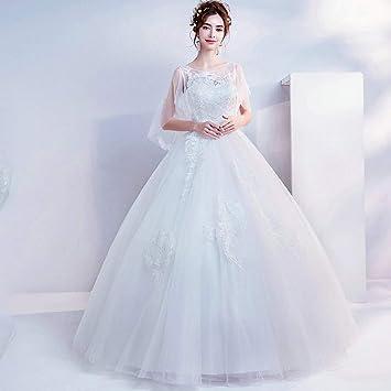 YT-RE Vestido de Novia de la Princesa de la Manga de la Mariposa Vestido