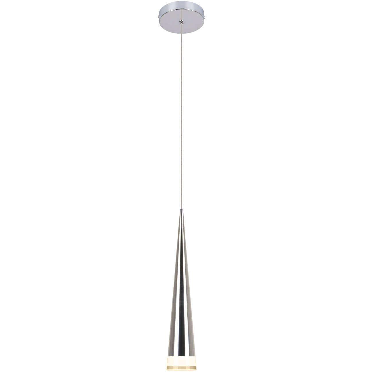 Unitary Brand Modern Nature White LED Acrylic Pendant Light Max 5w Plating Finish by Unitary (Image #1)