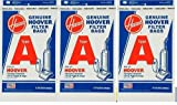 Hoover 4010001A Type A Vacuum Bags, 9 Bags