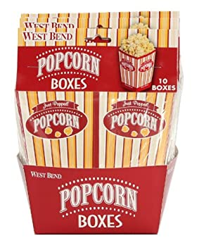 West Bend PC10663 Popcorn Pop-Up Boxes, Multi