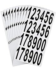 LUTER Nummers Stickers Waterdicht Zelfklevende Stickers voor Brievenbus, Huis, Deur, Adresnummer, Binnen of Buiten (7,5 cm)