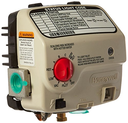 RELIANCE WATER HEATER CO 9007890 Honey LP Gas Valve ()