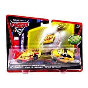 Disney pixar cars 2 movie moments die cast miguel camino and petro cartalina 1 55 - Coloriage cars 2 miguel camino ...