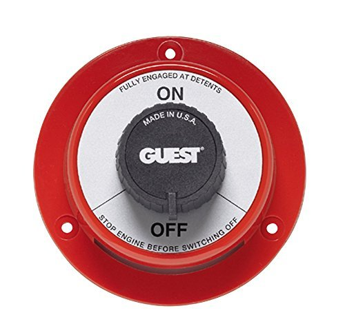 Marinco 2102 Battery Selector On/Off Marine Switch (Battery Marinco)