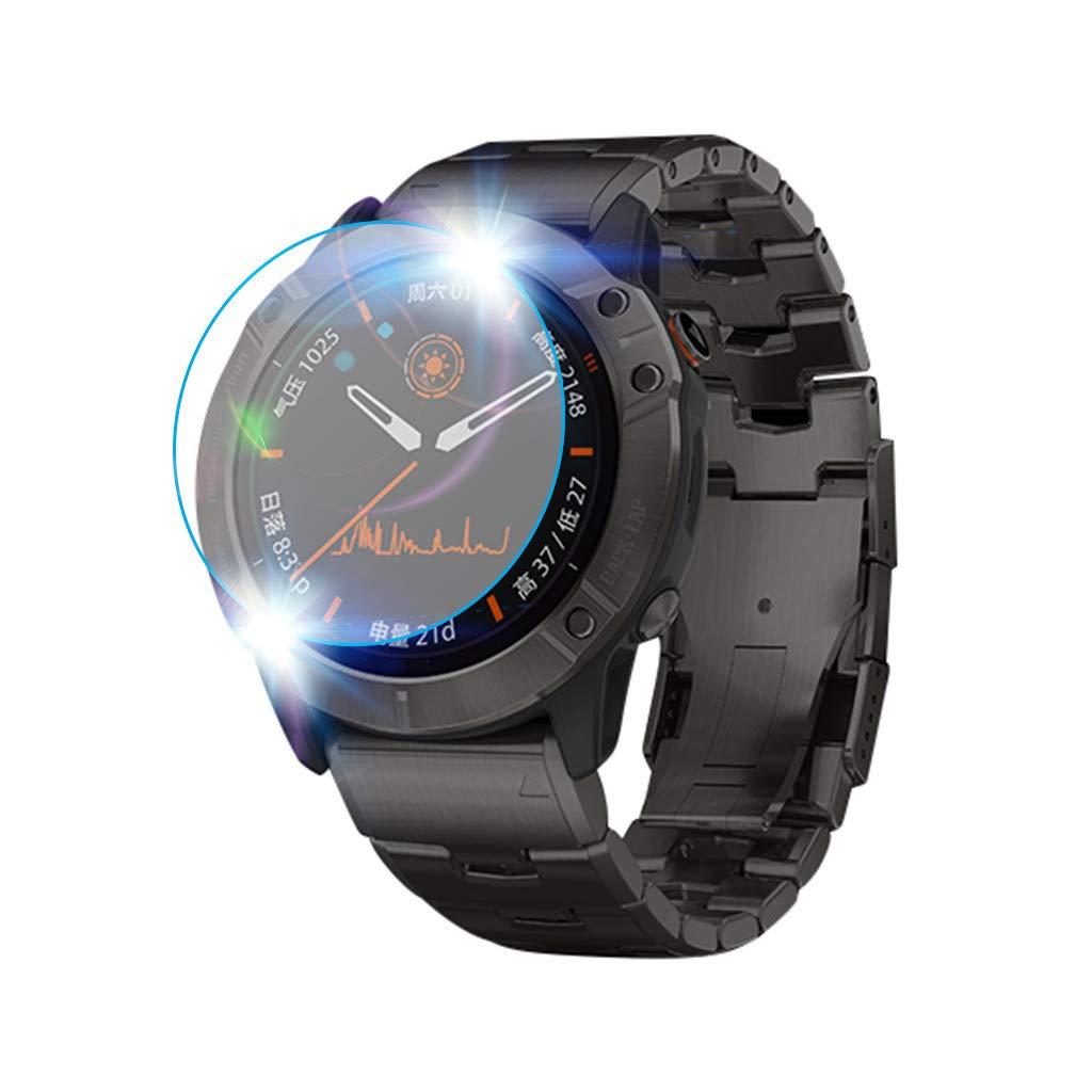 TwoCC Accesorios para Smartwatch, protector de pantalla de vidrio ...