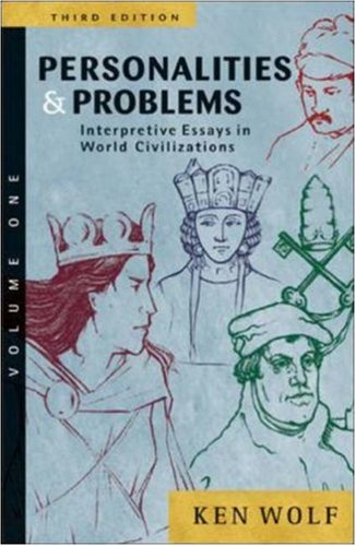 personality and problem interpretive essay in world civilization volume ii