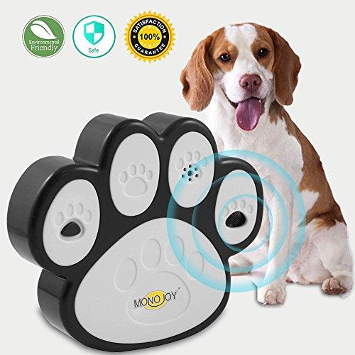 MONOJOY Ultrasonic Dog Bark Deterrent, [ Newest Generation ] Sonic Bark Control Indoor Outdoor Bark Controller, Dog Anti Barking Device Stop Barking Dogs Silencer Bark Breaker, Safety, Friendly by MONOJOY