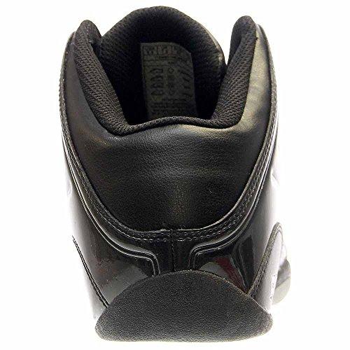 07cdea53e92e8 AND 1 Men's Rocket 4.0 Basketball Shoe, Black/Black-Silver, 9 M US ...
