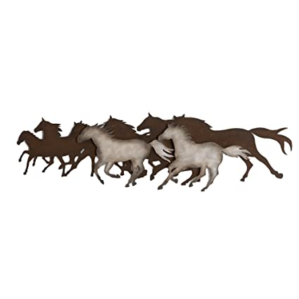 Amazon Midwest CBK Galloping Horses Wall Decor Home Kitchen