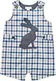 6 month mud pie - Mud Pie Baby Boys Easter Gingham Sleeveless One Piece Shortall, Blue, 6-9 Months