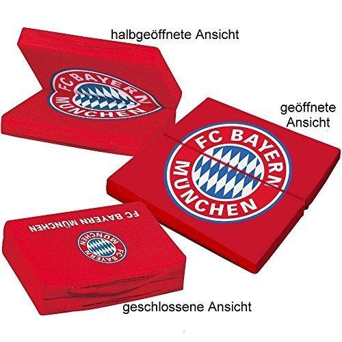 FC Bayern München Sitzkissen + gratis Sticker, Kissen / Sitzauflage Munich