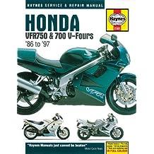 Honda VFR750 and 700 V-Fours 1986 Thru 1997