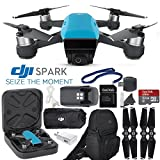 DJI Spark Quadcopter / Mini Drone with Outdoor Adventure Kit (Sky Blue)