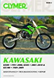 NOS-M448-2 Kawasaki KX80 ('91-'00), KX85 & KX85-II ('01-'10) and KX100 ('89-'09) Clymer Motorcycle Repair Manual