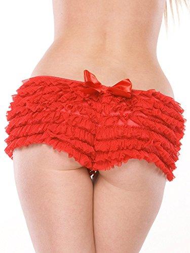 Coquette - Shorts - para mujer Rojo