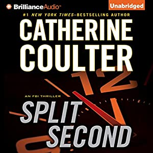 Split Second: An FBI Thriller Audiobook