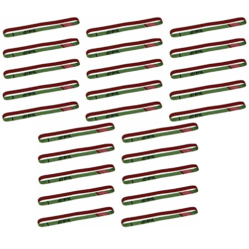 Proxxon 28583 13-Inch by 13/32-Inch Aluminum Oxide 80 Grit Sanding Belts, 25-PK by Proxxon (Image #1)