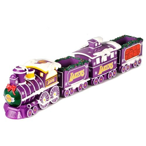 Resin Train Set (FOCO Los Angeles Lakers Resin Train Set)