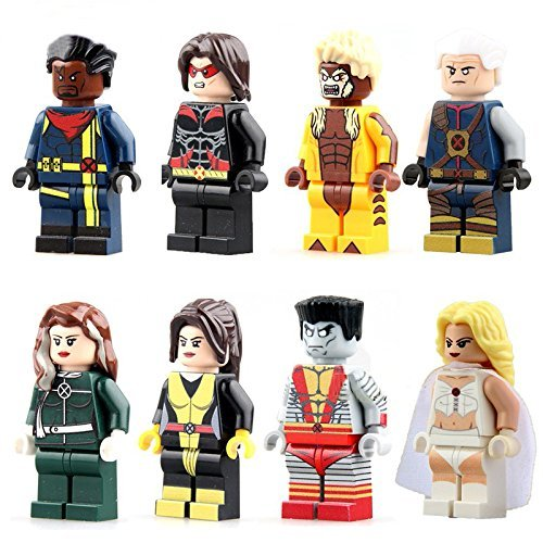 ActionToys Colossus/Warpath/FiguresHeroes Minifigures Mini Blocks Educational Toys DIY Building Blocks Brinks - Diy Comic Con Costumes