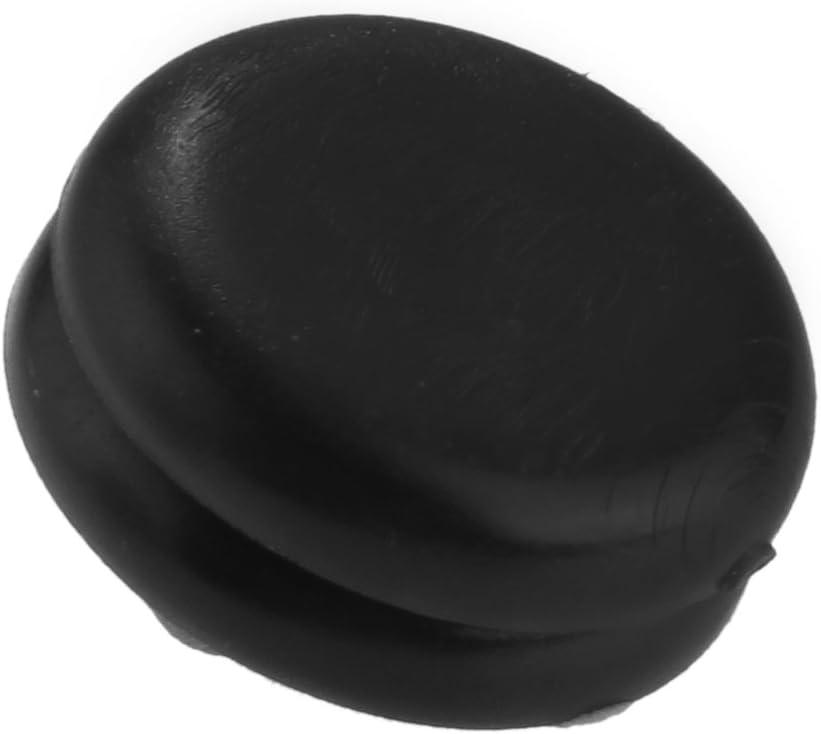 fitTek/® CARCHET Paio Tappo in Plastica Nero per Blocco Cintura di Sicurezza da Auto