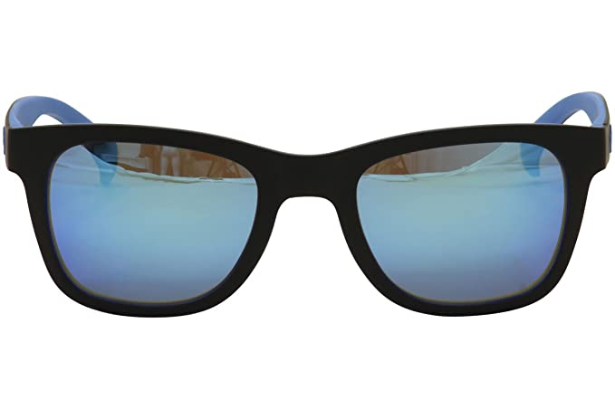 reputable site a50be 0f21c Adidas Originals Wayfarer Style Sunglasses in Black on Sky LED AOR004 009  027 52 Blue Mirror Amazon.co.uk Clothing