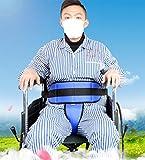 Cushion Pelvic Slider Belt, Torso Support for Wheelchair, Prevent Patient Forward Sliding, Large