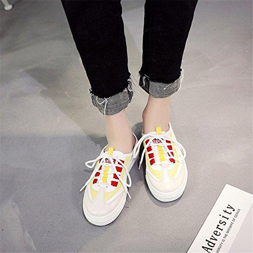Medias Lazy Shoes Little Nuevo Slip Moda de Segundo Plano On White Tacón Shoes Mujer de sin Zapatos Casual Verano Medias aq4zwxY4nU