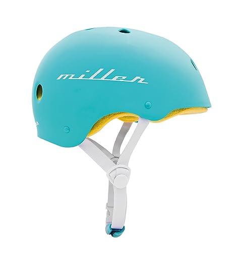 Casco MILLER TURQUESA Pro-Helmet para skate patinete bmx ...