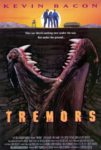 amazon com tremors 11x17 movie poster 1990 prints posters prints