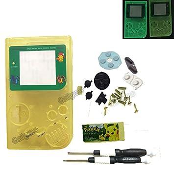 Amazon.com: Caliente Glow verde/amarillo Color para Gameboy ...