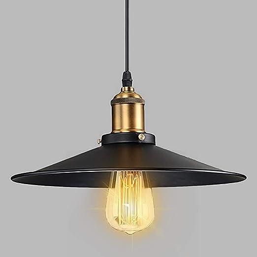 8d7329652d0 Maxmer Industrial Vintage Pendant Light Shade Retro Ceiling Lighting  Restaurant Pendant Lamp Shade Hanging Retro Chandelier E27 Lamp Holder   Amazon.co.uk  ...