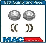 Mac Auto Parts 37386 Equinox Aztek Torrent Vue Rear Brake Drums & Shoes Kit New 8 B780