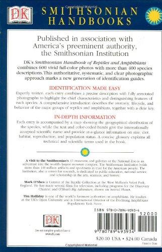 Smithsonian Handbooks: Reptiles and Amphibians (Smithsonian Handbooks)