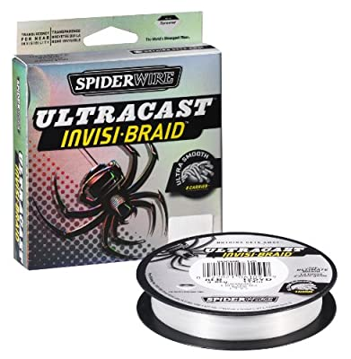 Spiderwire Ultracast Fishing Line 15-pound Test 125-yard Spool Clear from Big Rock Sports