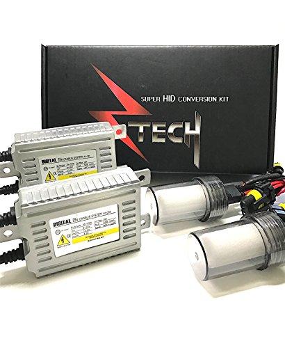 9004 Hid Xenon Light - ZTECH Xenon HID KIT 55W digital ballast (9004, 10000K)