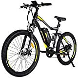 Addmotor HITHOT Electric Mountain Bike 48V 500W Motor Ebike Full Suspension 10.4Ah Lithium Battery Pedal Assist Sport Electric Bicycle 27.5Inch 2018 for Adult Men Review