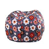 cjc 38 Inch Storage Bean Bag - Stuffed Animal Storage Bean Bag Chair | Perfect Storage Solution For Blankets/Pillows/Towels/Clothes (32)