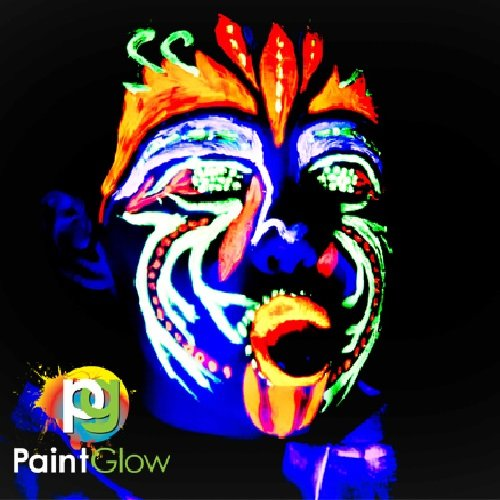 Paint Glow UV Neon Face and Body Paint 10 ml - Pack of 6  Amazon.ca  Beauty e9799cc4ad
