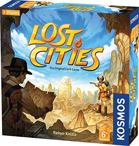 Lost Cities Card Game - with 6th Expedition Only $8.99 (Was $19.99)