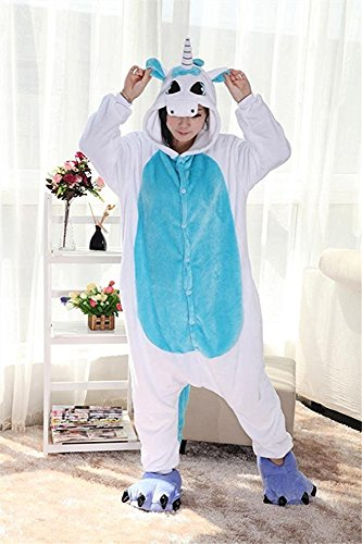 Rainbow Fox - Pijama de una pieza - para mujer Azul