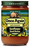 Once Again Organic Sunflower Seed Butter -- 16 oz - 2 pc