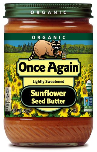 Once Again Organic Sunflower Seed Butter -- 16 oz - 2 pc by Once Again